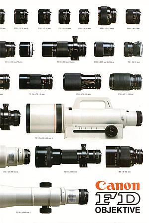 Canon new FD Lens Poster Vorschau