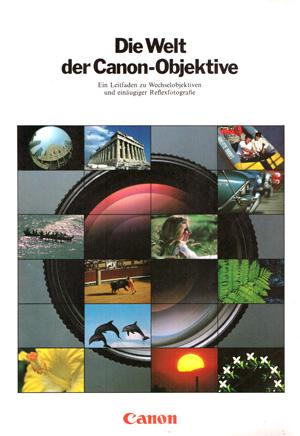 Die Welt der Canon-Objektive Titel