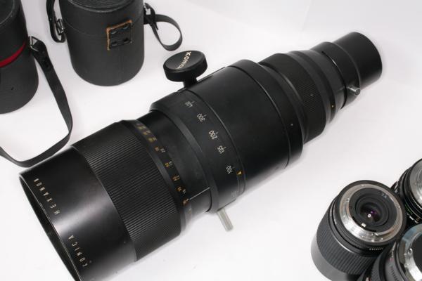 Konica 58-400mm zoom