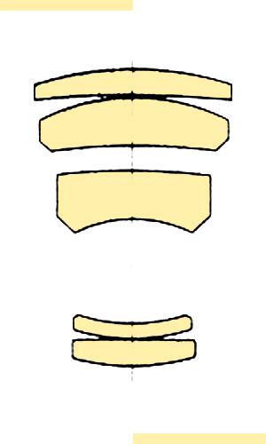 Konica Hexanon AR 200mmf35 Var I section