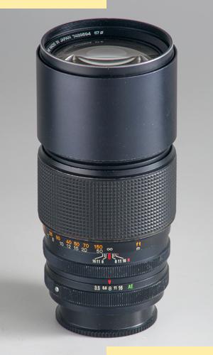 Konica AR 200mmf35 Var III