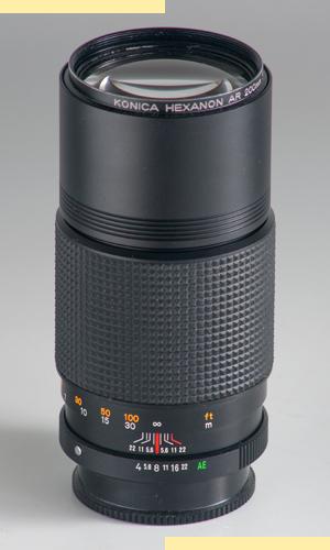 Konica AR 200mmf4
