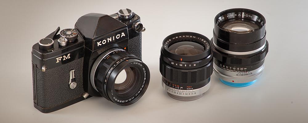 artaphot Konica F Lenses