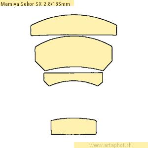 MamiyaSekorSX 135mmf28