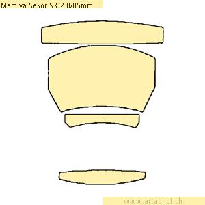 MamiyaSekorSX 85mmf28