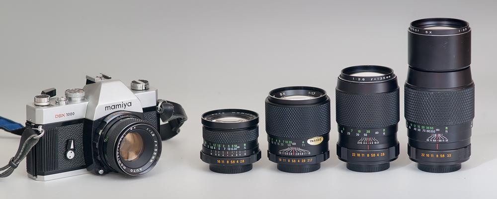 artaphot MamiyaSX lenses