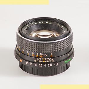Mamiya CS 50mmf17