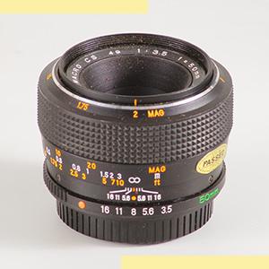 Mamiya CS 50mmf35 Macro