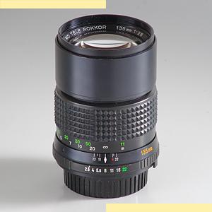 Minolta 135mm f28 MD-II pic