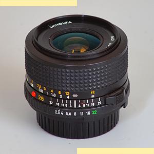Minolta 28mm f28 MD-III 5L pic2
