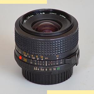 Minolta 28mm f28 MD-III 7L pic