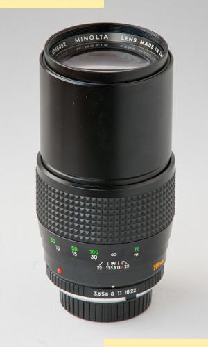 Minolta 200mm f35 MC-X pic