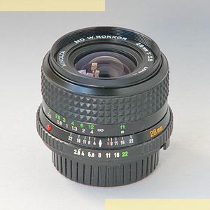 Minolta 28mm f28 MD-II pic2