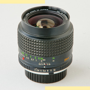 Minolta 28mm f2 MC-X pic