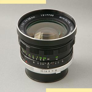 Minolta 28mm f35 7L SR-I pic