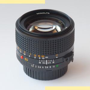 Minolta 50mm f12 MD-III pic