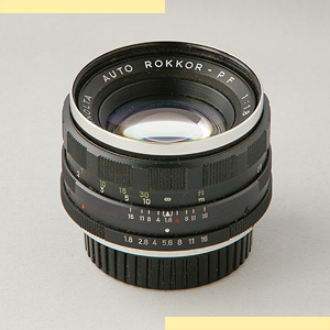 Minolta 55mm f18 AR pic