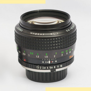 Minolta 58mm f12 MC-X