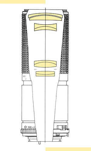 Minolta 100-200mm f56 MD-III
