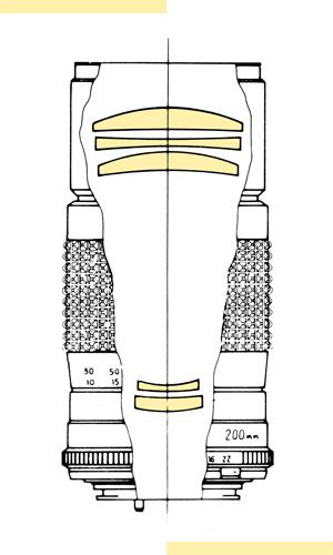 Minolta 200mm f45 MC-X