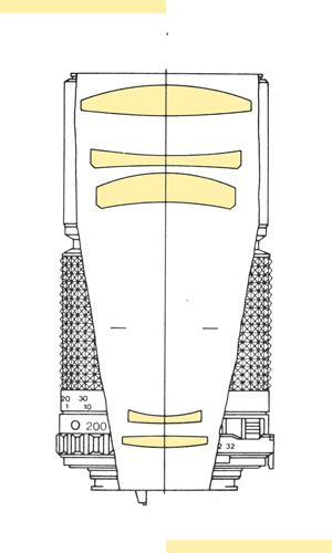 Minolta 200mm f4 MD-III