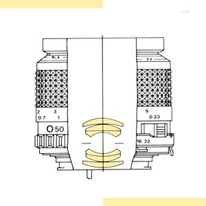 Minolta 50mm f35 Macro MD-III