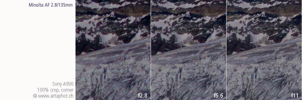 135mm Zermatt MAF 135mm f28 corner