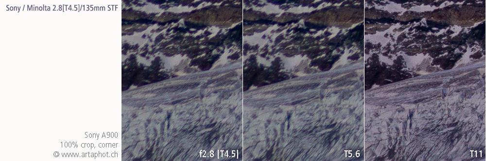 135mm Zermatt SAL 135mm STF corner