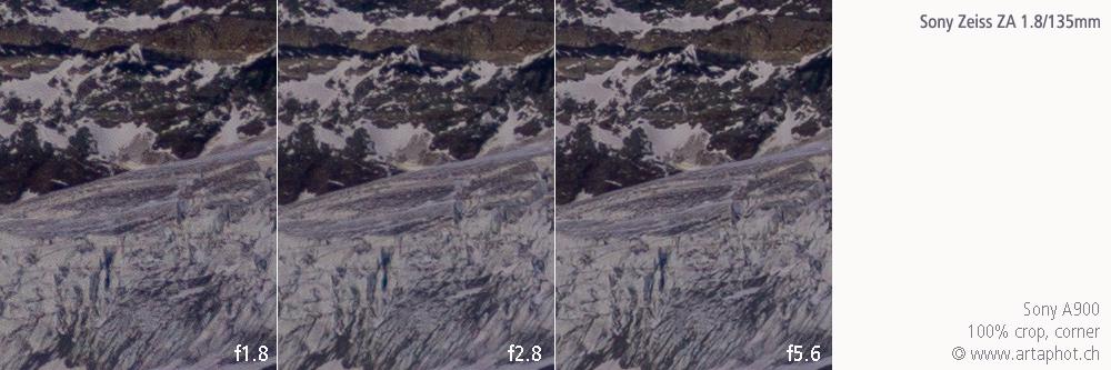 135mm Zermatt ZA 135mm f18 corner
