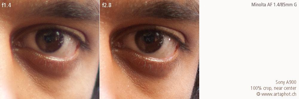 85mm 100mm CHCecilstudios Eye MAF 85mm f14