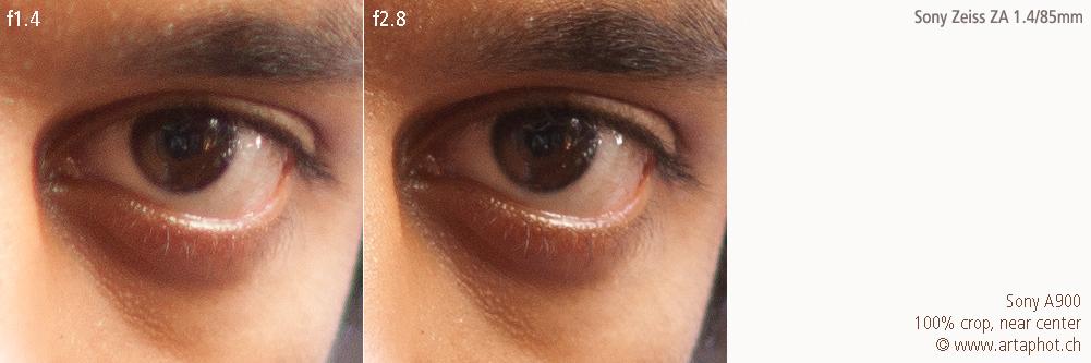 85mm 100mm CHCecilstudios Eye ZA 85mm f14