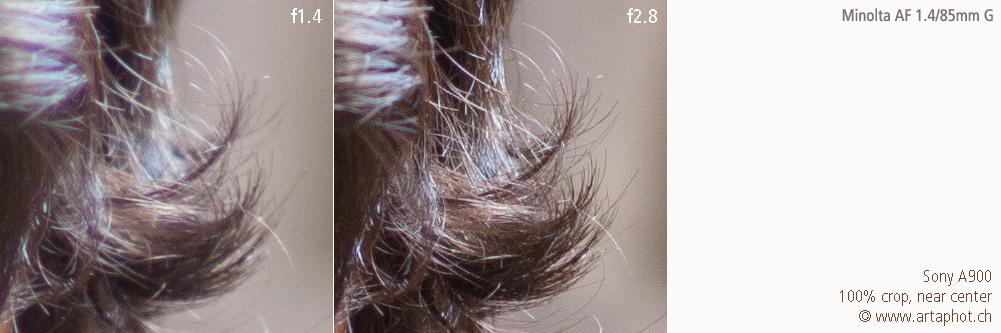 85mm 100mm CHCecilstudios Hair MAF 85mm f14