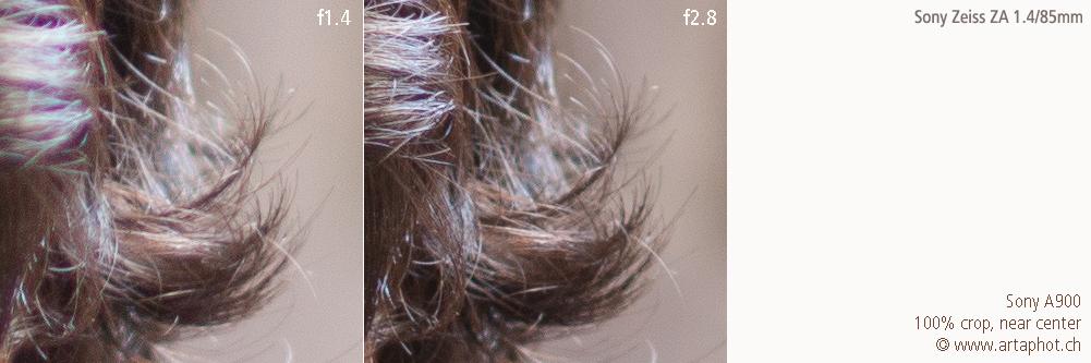 85mm 100mm CHCecilstudios Hair ZA 85mm f14