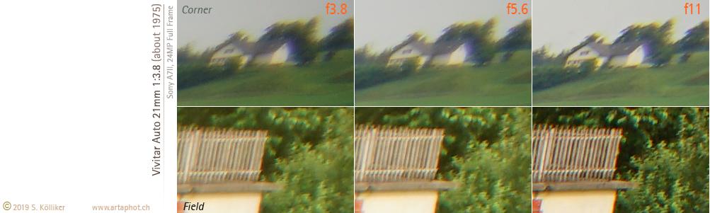 Test 20mm Vivitar Tokina 21mmf38