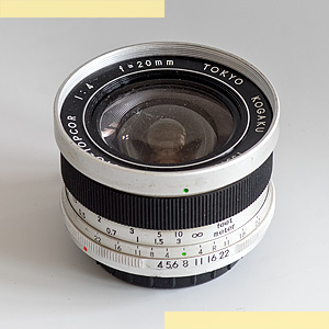 Topcor RE 20mm f4 pic