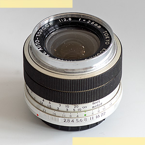 Topcor RE 28mm f28 pic