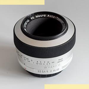 Topcor RE 58mm f35 Macro pic