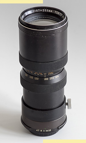 Topcor RE 87-205mm f47 pic